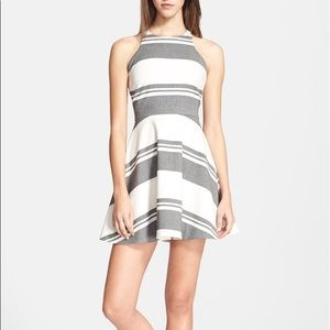 Elizabeth&James 'Magdalena' Stripe Fit&Flare Dress